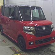 Микровэн HONDA N BOX кузов JF1 класса минивэн модификация Custom G A Package 2014 пробег 43т.км красный черный фото