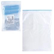 Пакет с защелкой (гриппер) Extra, 100ммх150мм, 100 шт фото