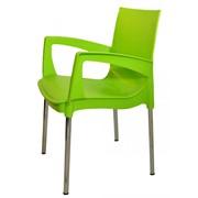 Кресло пластиковое на металлокаркасе РИККО фото