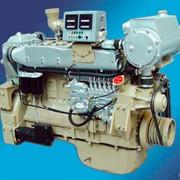 Двигатель дизельный судовый серии Weichai WD618 фото