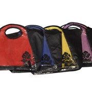 Эко сумки с прозрачной вставкой фото