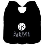 Парикмахерский пеньюар GKhair Global keratin Embroidered Cape код: 0168 фото