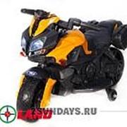 Детский электромотоцикл Moto JC 919 оранжевый