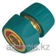 Соединитель Raco Profi-Plus - шланг-насадка, латунный с покрытием TPR, с автостопом, 1/2 Код:4244-55105B фото
