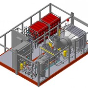 Автомобильная газонаполнительная компрессорная станция АГНКС БК фото