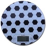 Весы кухонные Lux SF 620/6145 (2510) Black-White, код 116859 фото