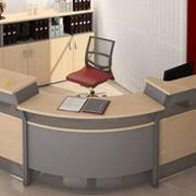 Офисная мебель Берлин-рецепция фото