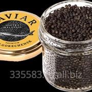 Черная икра осетровая зернистая PREMIUM 100 гр с/б фото