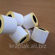 Термотрансферные этикетки 98х150. 1000 шт. рулон фото