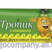 """Батончик фруктовый """"Тропик"""" с ананасом 4101 фото"""