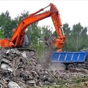 Компания РДК занимается погрузкой и вывозом строительного мусора в Санкт-Петербурге и Ленинградской области. фото