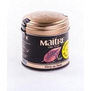 Чай MAITRE DE THE Noir Мэтр Де Люкс черный листовой, 100г фото