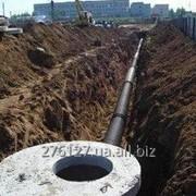 Прокладка трубопровода наружных инженерных сетей фото