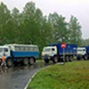 Организация транспортировки спецтехники своим ходом в срочном режиме. фото
