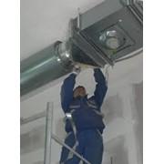 Монтаж систем вентиляции в Виннице. фото