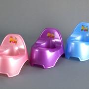 Горшки детские пластмассовые. ОПТ, Доставка по Украине фото