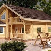 """Деревянный дом под ключ """"Залесье"""" фото"""