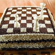 Торт тематический Шахматы №0041 код товара: 3-0041 фото