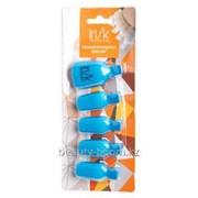 Зажим-прищепка для снятия искусственных покрытий для ног Irisk, 5 шт. фото