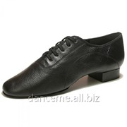 Dance Me Обувь мужская для стандарта Флекси 0203, черная кожа фото