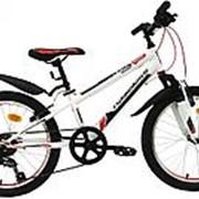 """Велосипед 20"""" Nameless S2000, красный/белый фото"""