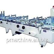 Автоматическая фальцевально-склеивающая машина ZH-1000A c префолдингом на точках фото