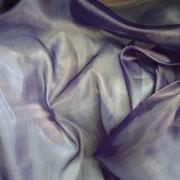 Ткань Органза Темно-лиловый Хамелеон фото
