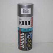 Краска эмаль Алкидная (KUDO) 520 мл темно-серая фото