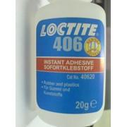 Клей моментальный цианоакрилатный Loctite 401, 406, 454, 480 фото