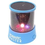 Ночник проектор звездного неба синий Эврика фото