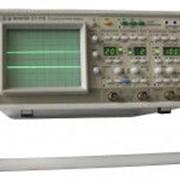Осциллограф аналоговый двухканальный С1-176 фото