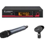 Sennheiser EW 135 G3-B-X UHF (626-668 МГц) радиосистема серии evolution G3 100, ручной передатчик с динамической микрофонной головкой MD 835, фото