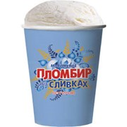 мороженое пломбир на сливках 450 гр фото
