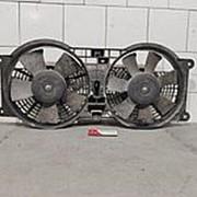 Диффузор в сборе с вентиляторами радиатора Ssang Yong Rexton 2006-2012 фото