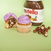 Набор капкейков с Nutella и фундуком фото