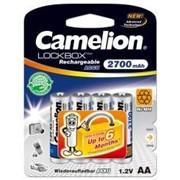 NH-AA2700LBP4 CAMELION Lockbox Rechargeable, Аккумулятор AA, 1.2V, 2700 mAh, 4 шт. фото