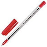 """Ручка шариковая Schneider """"Tops 505 M"""" красный, корпус прозрачный фото"""