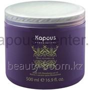 Маска с маслом ореха макадамии Kapous серии Macadamia Oil, 500 мл. фото