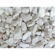 Мраморная крошка белая, фракция 10-20 мм, 20 кг фото