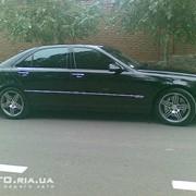 Прокат автомобиля Mercedes W220 Long фото