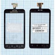 Сенсорное стекло (тачскрин) для ZTE V880E Dual sim / V889D черное, Диагональ 4 фото