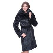 Элегантное пальто из нутрии продаю фото