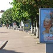 Реклама на ситилайтах в Житомире фото