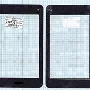 Сенсорное стекло (тачскрин) для ASUS PadFone mini Station черное, Диагональ 7 фото