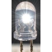 Светодиод сверхяркий белый фото