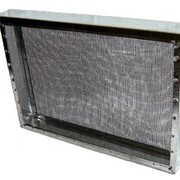 Изолятор сетчатый из оцинкованной стали 2 рамки фото