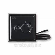 Терморегулятор с датчиком пола Intro, черный, EcoINTRO10FSW фото