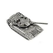 Модель Танк M1A1 Abrams, олово (подарочная упаковка) фото
