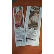 Бумажный пакет для выпечки и фаст-фуда 90x60x290 бумага Kraft 40 gsm фото