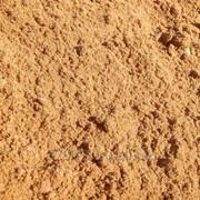 Песок строительный, мытый фото
